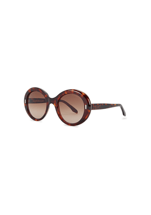 Cutler And Gross 1327 Tortoiseshell Oversized Sunglasses