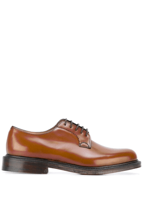 Church's Shannon leather derby shoes - Brown