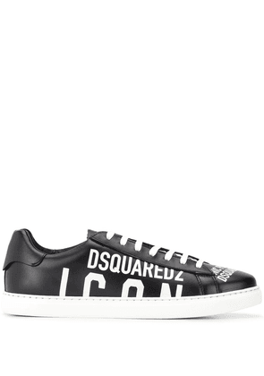 Dsquared2 Icon low top sneakers - Black