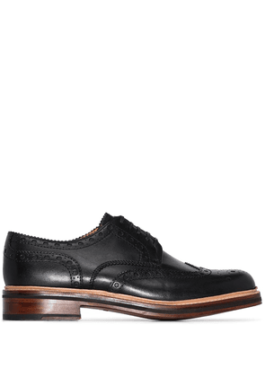 Grenson Archie leather brogues - Black