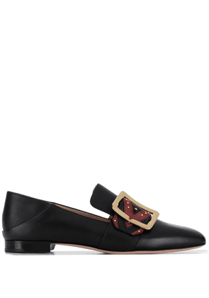 Bally Janelle buckle loafers - Black