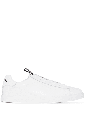 Dsquared2 Tennis leather sneakers - White