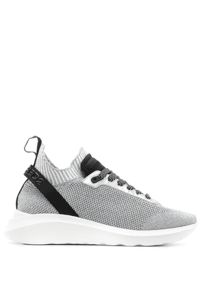 Dsquared2 Speedster lace-up sneakers - SILVER