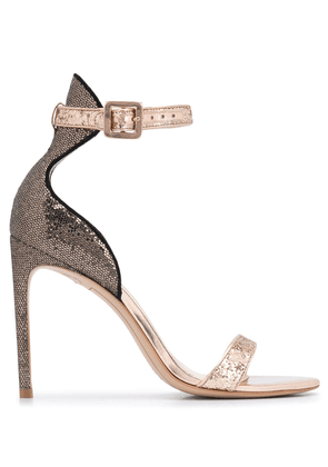 Sophia Webster Nicole sandals - GOLD