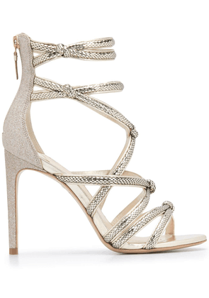 Sophia Webster Freya cage sandals - GOLD