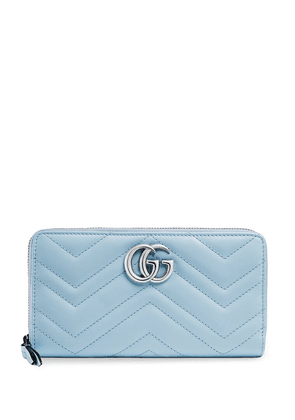 Gucci GG Marmont continental wallet - Blue
