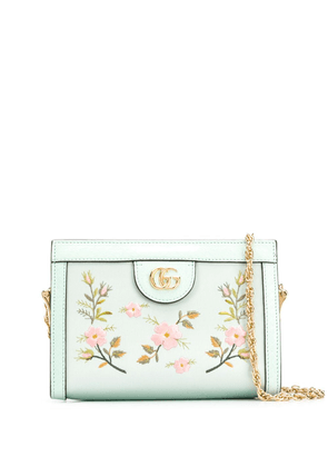 Gucci small Ophidia GG Flora shoulder bag - Green