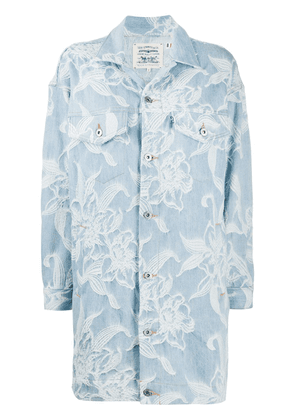 Levi's Made & Crafted The Palmer jacquard coat - Blue