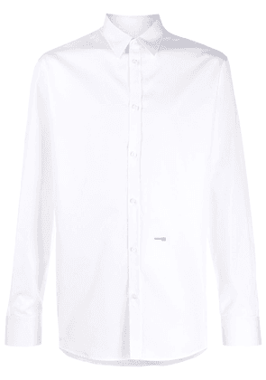 Dsquared2 micro-logo print relaxed fit shirt - White