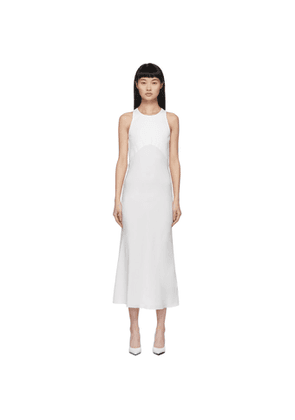 Haider Ackermann White Fabric Combination Dress