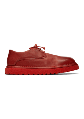 Marsell Red Gomme Derbys
