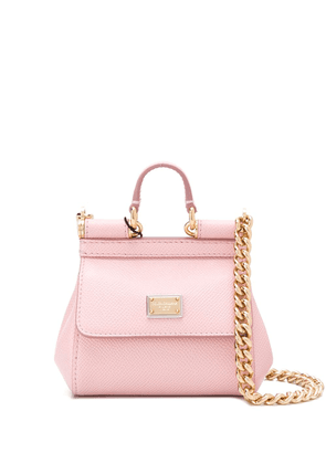 Dolce & Gabbana micro Sicily tote bag - PINK