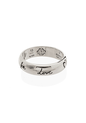 Gucci Blind For Love band ring - SILVER