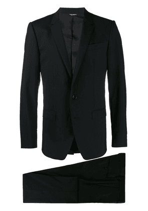 Dolce & Gabbana single-breasted two piece suit - Black
