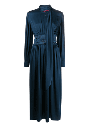 Sies Marjan belted midi dress - Blue