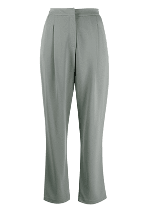 Emporio Armani tailored high-waisted trousers - Grey