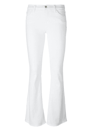 J Brand flared trousers - White