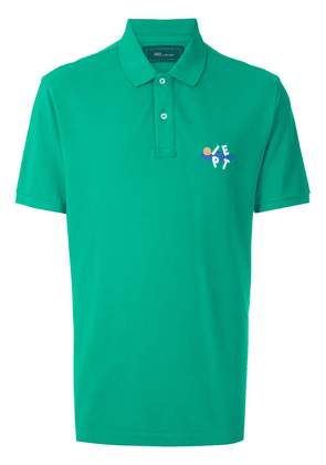 Piet logo-embroidered short-sleeved polo shirt - Green