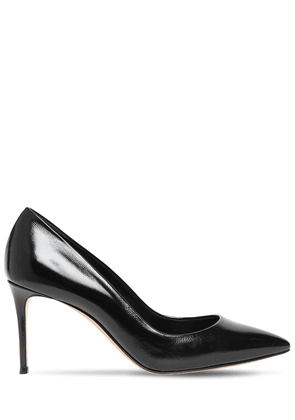 100mm Julia Patent Leather Pumps