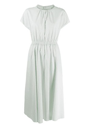 Fabiana Filippi elasticated waist midi dress - Green