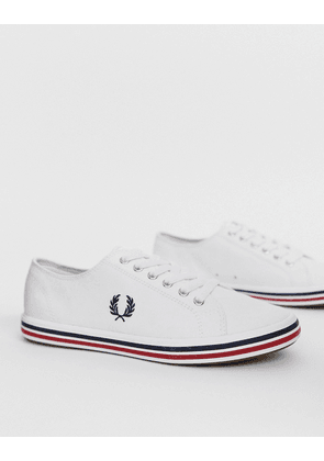 Fred Perry Kingston twill trainers-White