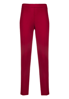 P.A.R.O.S.H. slim fit trousers - Red
