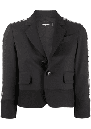 Dsquared2 cropped single-breasted blazer - Black