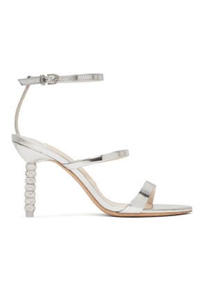Sophia Webster Silver Rosalind Mid Sandals