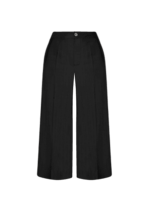GISY - Iris Black Silk Pants