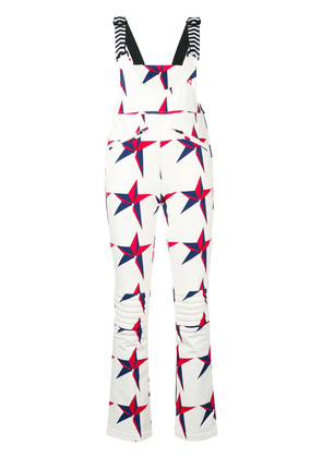 Perfect Moment Isola Racing dungarees - White