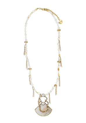 Camila Klein mother of pearl necklace - GOLD