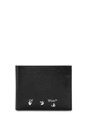 Logo Bifold Leather Wallet