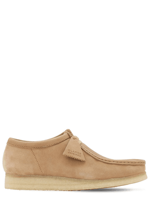 30mm Suede & Leather Wallabee Shoes