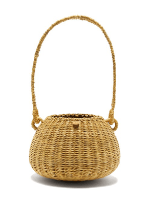 Muuñ - Oriane Straw Basket Bag - Womens - Black Multi