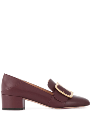 Bally heeled loafers - Red