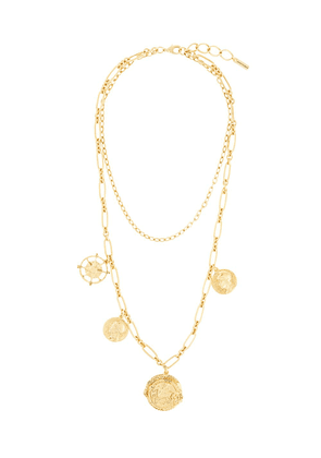 Jennifer Behr Pangea short necklace - GOLD