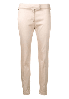 Tom Ford mid-rise skinny trousers - NEUTRALS