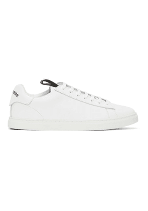 Dsquared2 White and Black New Tennis Sneakers
