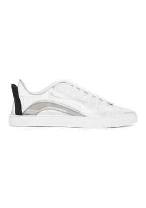 Dsquared2 Transparent PVC Low-Top Sneakers