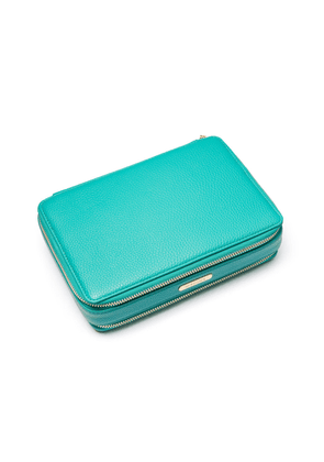 Emerald Green Large Jewellery Travel Case