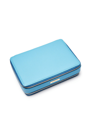 Azure Blue Large Jewellery Travel Case