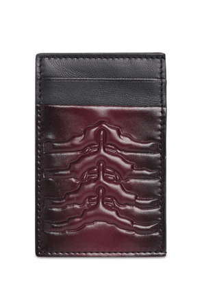 Classic Rib Cage Leather Card Holder