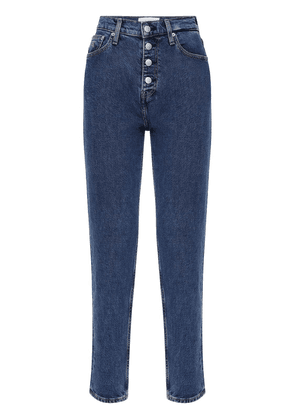 Mum Fit Cotton Denim Jeans