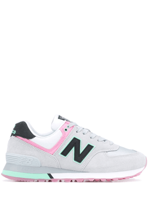 New Balance panelled lace-up sneakers - Grey
