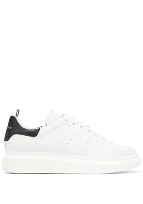 Officine Creative leather lace-up sneakers - White