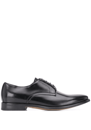 Dell'oglio lace-up Derby leather shoes - Black