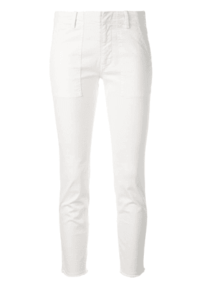 Nili Lotan cropped skinny trousers - White