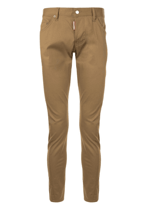 Dsquared2 straight-leg chinos - Brown