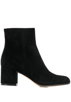 Gianvito Rossi heeled Margaux boots - Black