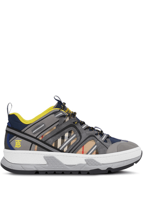 Burberry Union Vintage Check sneakers - Grey